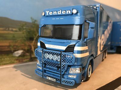 WSI WSI Scania R Highline bakwagen combi Tenden Norway