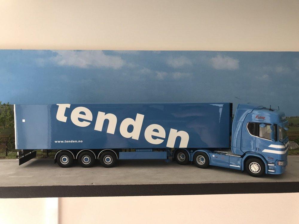 Tekno Tekno Scania R next gen Highline met koeloplegger Tenden Norway