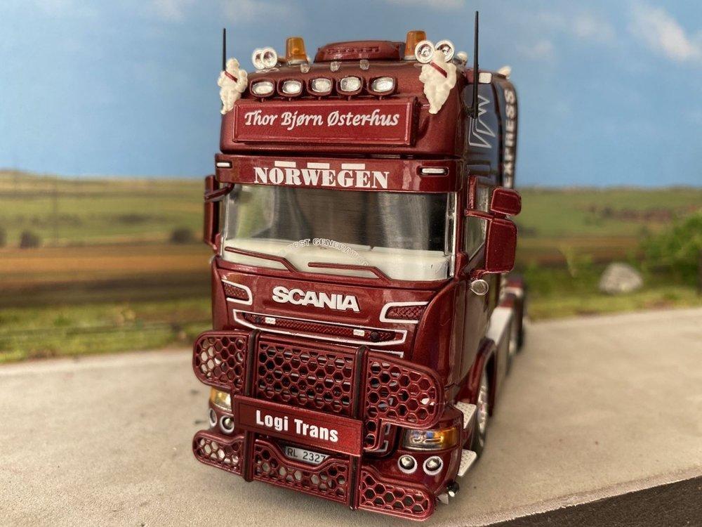 Tekno Tekno Scania R 6x4 Topline single truck Thor Bjorn Osterhus Norway