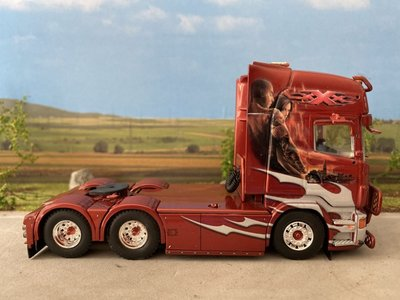 Tekno Tekno Scania R Topline 6x2 single truck Telhaug XXX