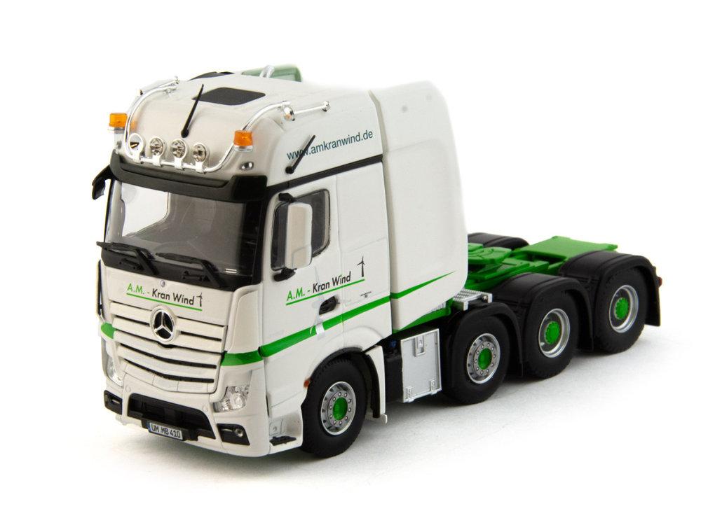 IMC IMC Mercedes Arocs gigaspace 8x4 single truck Kran Wind