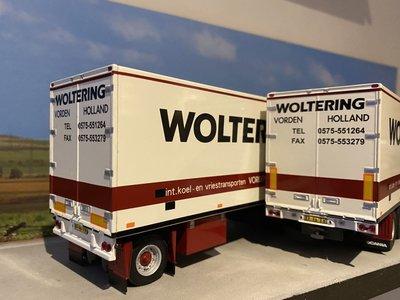 WSI WSI Scania 142H bakwagen combi Woltering Vorden