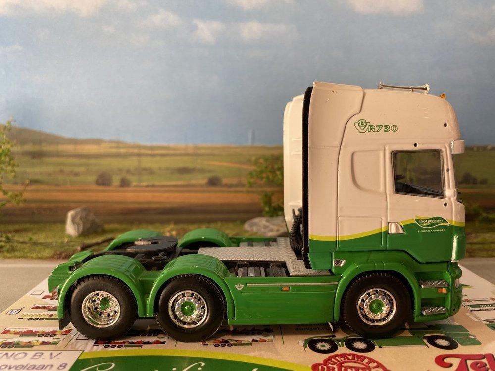 Tekno Tekno Scania R720 Topline 6x2 single truck Dijco