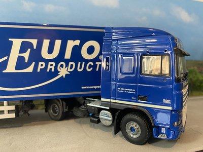 Tekno Tekno DAF 105XF SSC met gesloten oplegger Europroducts