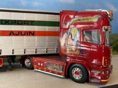 Tekno Tekno R Topline met schuifzeilen oplegger VGW België