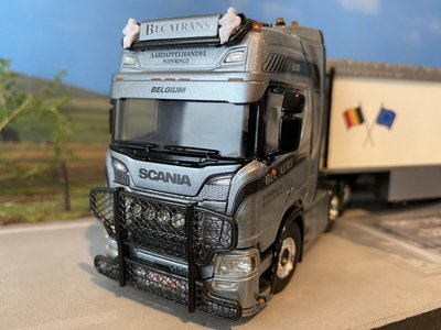 WSI WSI Scania R Highline 6x2 with bandlooser Becatrans België