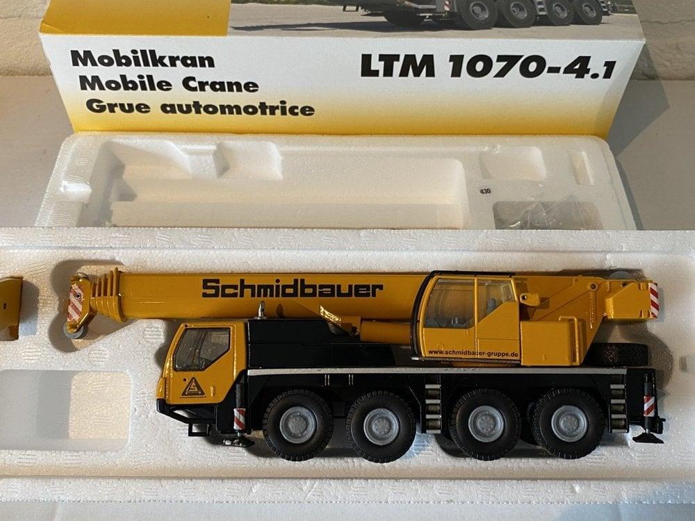 Conrad Modelle Conrad Liebherr LTM 1070-4.1 Mobilkran Schmidbauer