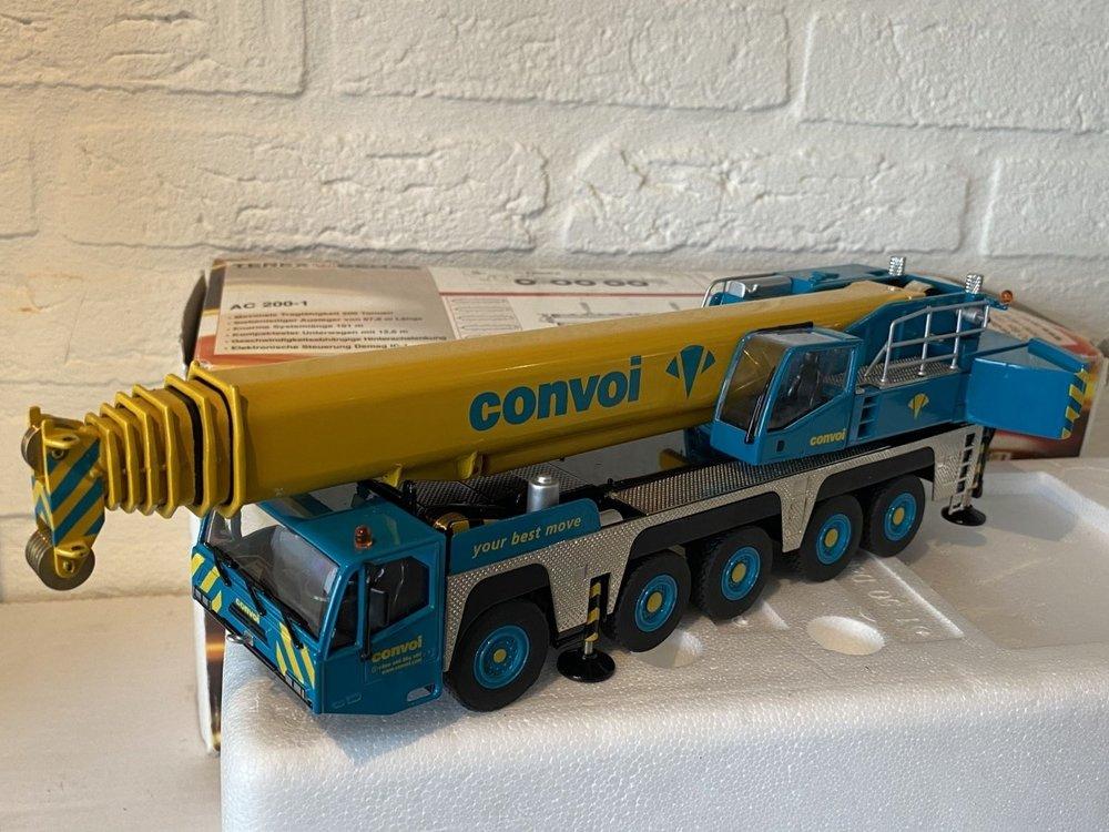 NZG NZG Terex-Demag AC200-1 Mobilkran Convoi