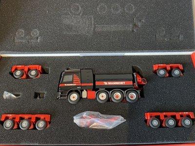 Mammoet store Conrad Mercedes Actros SLT (4-axle) + Goldhofer (10-axle) Mammoet
