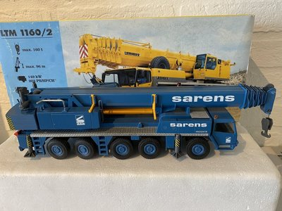 Sarens store Conrad Liebherr LTM 1160/2 Mobilkran Sarens