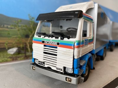 Tekno Tekno Scania 143M LZV combinatie Nordisk Transport