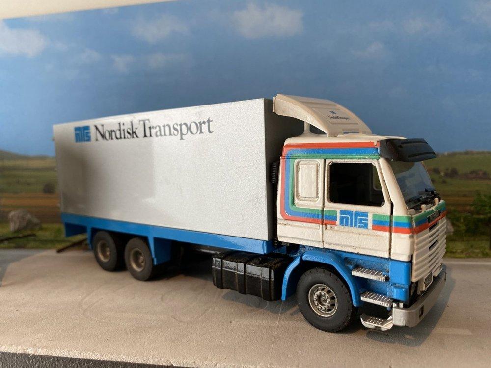 Tekno Tekno Scania 143M LZV combinatie Nordisk Transport