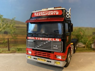 WSI WSI Volvo F16 6x2 single truck Multiwheels Amsterdam