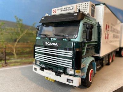 WSI WSI Scania 143M bakwagen combi Danexim Denmark