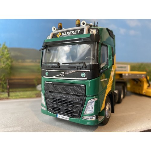 WSI WSI Volvo FH04 Glob. 6x4 + lowbed oplegger Hareket