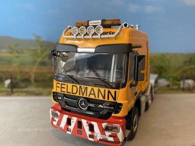 WSI WSI Mercedes Actros 8x4 single truck Feldmann