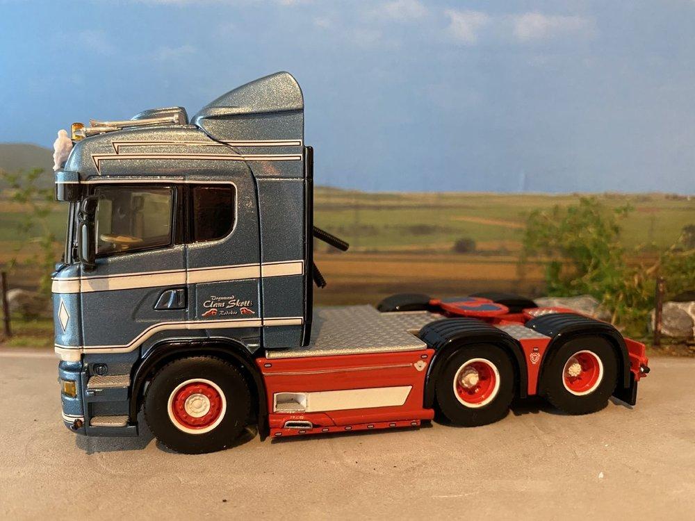 WSI WSI Scania R Highline 6x2 singel truck Claus Skott