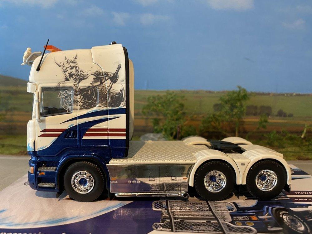 Tekno Tekno Scania R Topline 6x2 single truck Bohlins