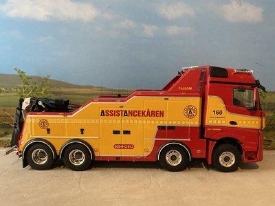 WSI WSI Mercedes Arocs MP4 8x4 Falkom Assistancekaren