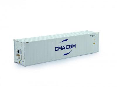 Tekno Tekno Tekno CMA CFM 40ft. reefer container