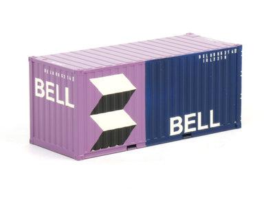 WSI WSI Premium line 20ft. container Bell