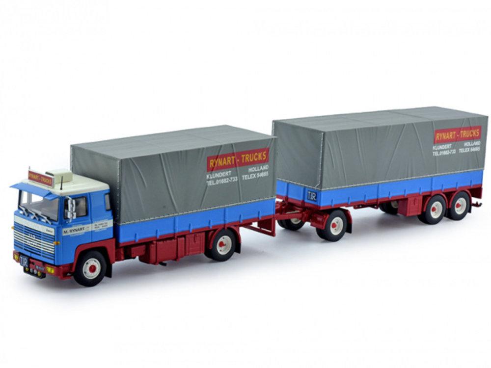 Tekno Tekno Scania 140 motorwagen met aanhanger Rynart