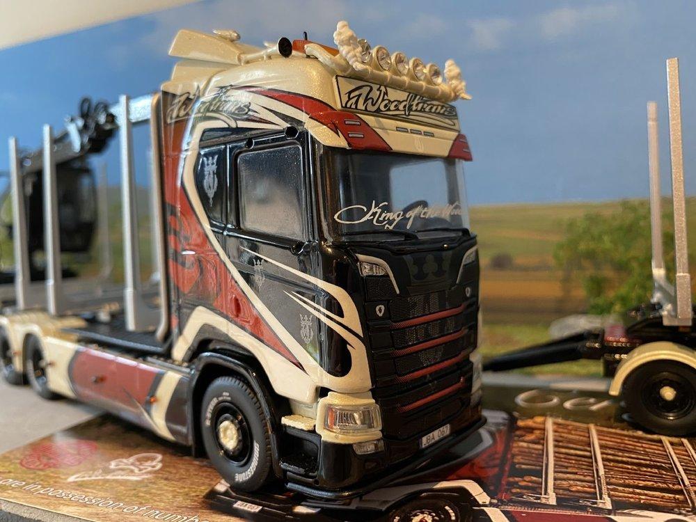 Tekno Tekno Scania R next gen Highline Zweedse houtcombi Woodtrans