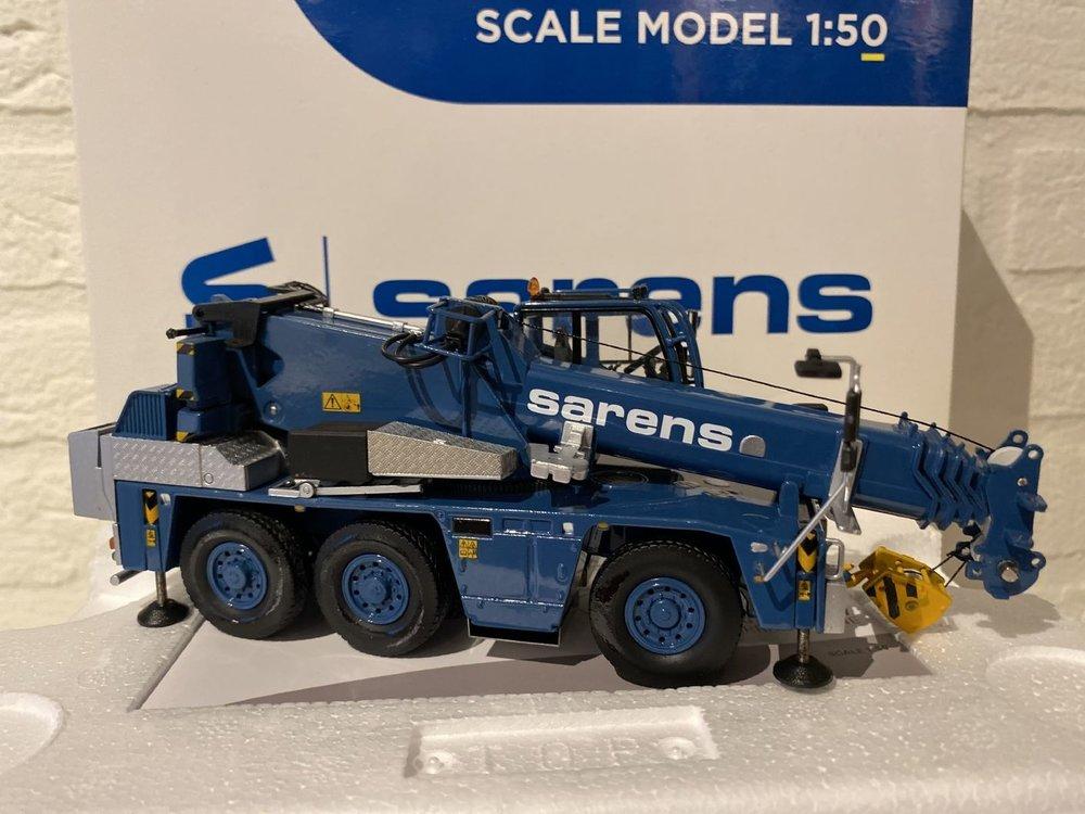 Sarens store IMC Demag AC45 city Sarens