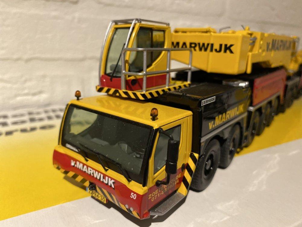NZG NZG Liebherr LTM 11200-9.1 Mobil Crane van Marwijk