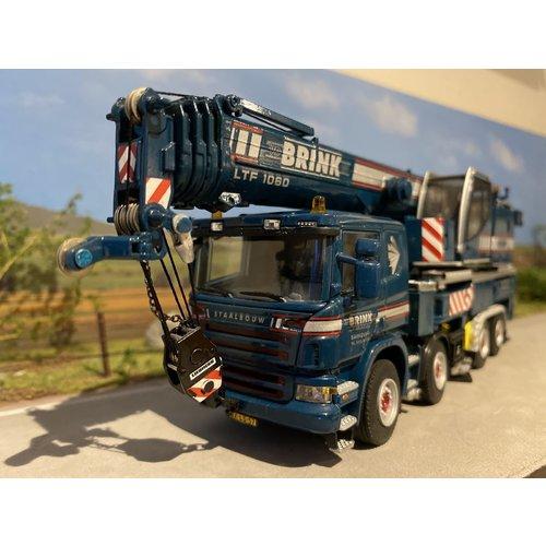 WSI WSI Liebherr LTF 1060-4.1 Scania P400 Brink Staalbouw