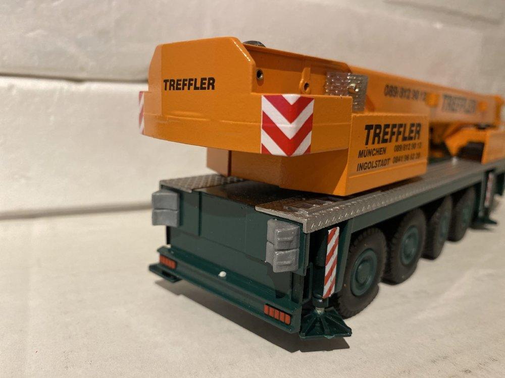 Conrad Modelle Conrad Faun ATF 100-5 all terrain  crane Treffler