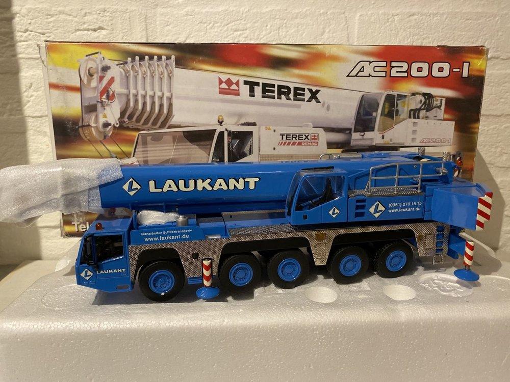 NZG NZG Terex-Demag AC200-1 Mobilkran Laukant