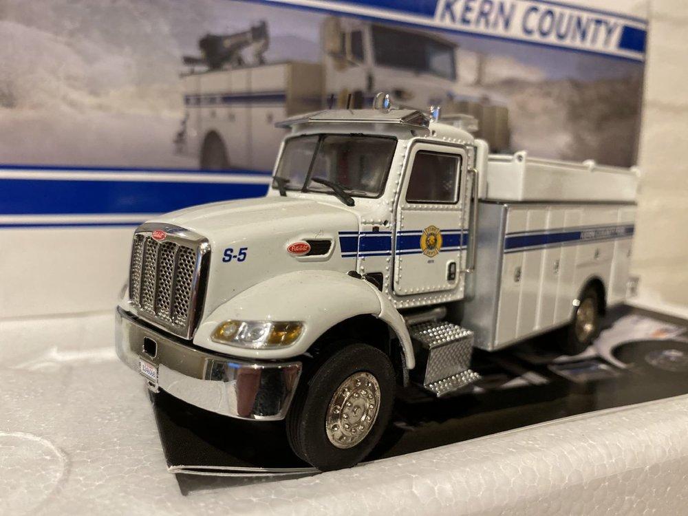 TWH Collectibles TWH Peterbilt model 335 Kern county fire dept.