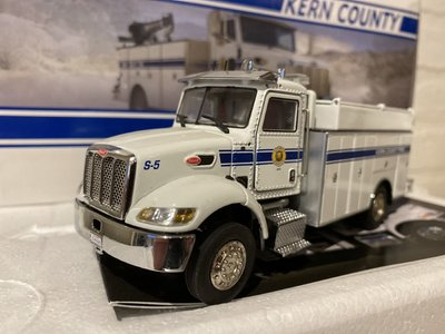 TWH Collectibles TWH Peterbilt model 335 Kern county fire dept.
