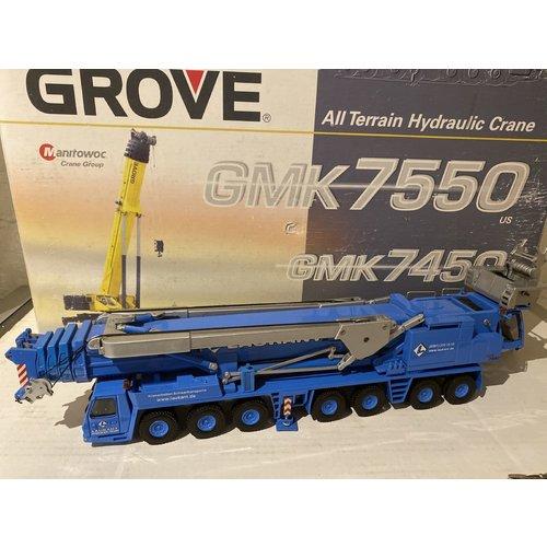 NZG NZG Grove GMK 7550 Laukant Mobile Crane
