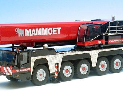 Mammoet store NZG Terex-Demag AC200-1 telescopic crane Mammoet