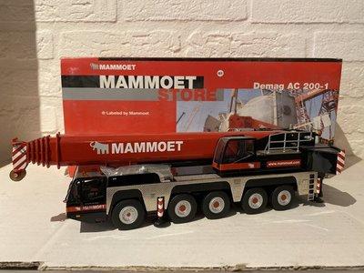 Mammoet store NZG Terex-Demag AC200-1 Telekraan Mammoet
