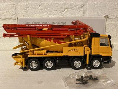 Conrad Modelle Conrad Mercedes Actros betonpomp Putzmeister