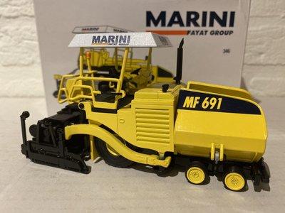 Kaster scalemodels Kaster Marini MF 691 paver