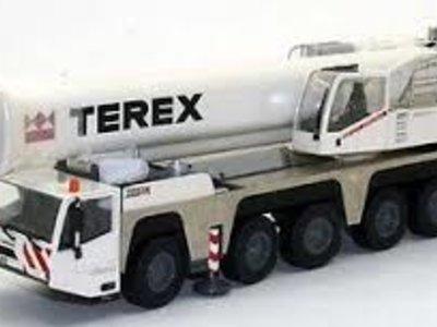 NZG NZG Terex-Demag AC200-1 telescopic crane White