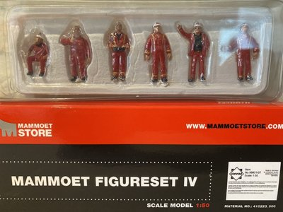Mammoet store Conrad Figure set IV Mammoet