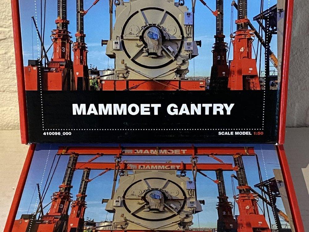 YCC 1:50 Mammoet Gantry set