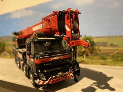 Mammoet store WSI Liebherr LTF 1060-4.1 Volvo FMX Mammoet
