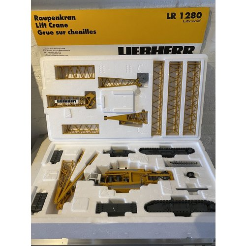 Conrad Modelle Conrad Liebherr LR1280 Litronic crawler crane