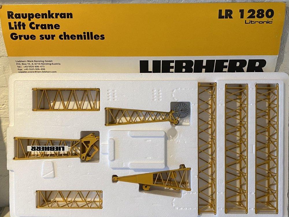 Conrad Modelle Conrad Liebherr LR1280 Litronic rupskraan