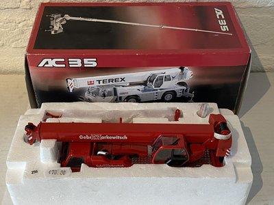 NZG NZG Terex-Demag AC35 crane truck Gebr. Markewitsch