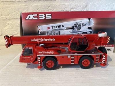 NZG NZG Terex-Demag AC35 kraanwagen Gebr. Markewitsch