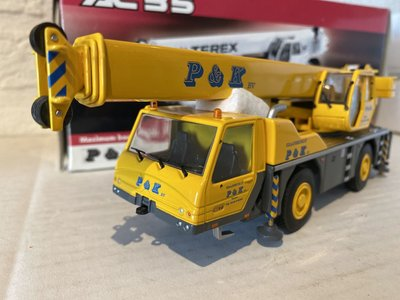 NZG NZG Terex-Demag AC35 crane truck P&K
