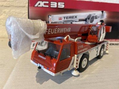 NZG NZG Terex-Demag AC35 crane Feuerwehr