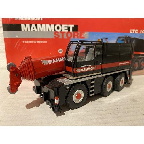 Mammoet store Conrad Liebherr LTC1055 mobil crane Mammoet